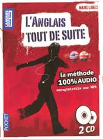 Coffret Mains libres L'anglais tout de suite 100% AUDIO (2CD), CD
