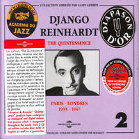 DJANGO REINHARDT THE QUINTESSENCE PARIS LONDRES 1935 1947 COFFRET DOUBLE CD AUDIO