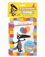 8 invitations loup