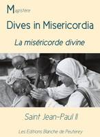 Dives in misericordia, La miséricorde divine