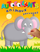 AUTOCOLLANTS ANIMAUX ANIMAUX SAUVAGES