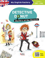MY ENGLISH FACTORY - DETECTIVE DONUT,MYSTERY AT THE MUSEUM (LEVEL3)