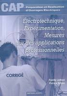 Electrotechnique Experimentation Mesures Sur Des Application