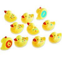 Smart splash number fun ducks set