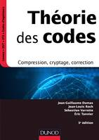 Théorie des codes - 3e éd., Compression, cryptage, correction