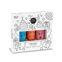 Coffret 3 vernis à l'eau 8ml Cookie Bella Polly