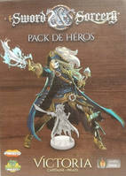Sword & Sorcery - Victoria (Capitaine Pirate) - Pack de Héros
