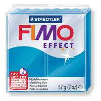 FIMO EFFECT BLEU TRANSPARENT 374 (6)