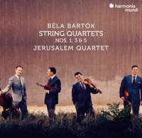 String quartets 1, 3 & 5 - Jerusalem Quartet