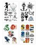 Harry Potter set 35 tatouages temporaires