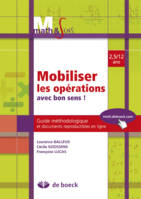 MOBILILISER LES OPERATIONS AVEC BON SENS  GUIDE PE