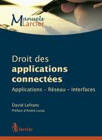Droit des applications connectées, Applications-Réseau-Interfaces