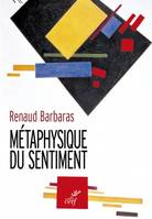 METAPHYSIQUE DU SENTIMENT