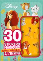 DISNEY - Mes 30 stickers magiques repositionnables