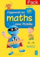 Pack de 10 fichiers J'apprends les maths CP Picbille