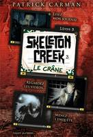 3, Skeleton creek, Le crâne