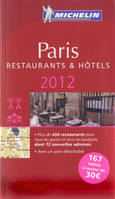 GUIDE MICHELIN PARIS 2012