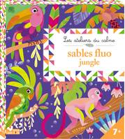 Tableaux sables fluos jungle