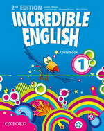 Incredible English - Second edition - Level 1, Elève