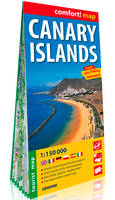 Îles Canaries 1/150.000 (Carte grand format laminé