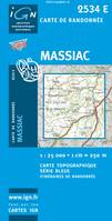 Massiac 1/25 000