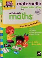 Maths Moyenne Section 4-5 ans