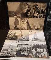 Glénans, informations et documents (lot de 56 numéros de la revue de yachting)