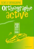 Orthographe active, CM1, cycle 3, niveau 2