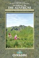 Auvergne walking guide 42 walks in volcanic hills of France