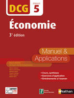 5, Economie - Epreuve 5 DCG - Manuel et applications - 2016