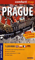 CR : Comfort ! Map : Prague 1/20 000