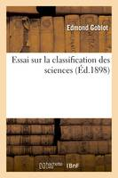 Essai sur la classification des sciences