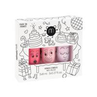 Coffret 3 vernis à l'eau 8ML Cookie Bella Elliot