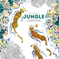 Jungle, Une aventure exotique & un carnet de coloriage