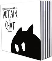 Putain de chat T01 -T05, Coffret