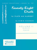 78 Duets for Flute and Clarinet Vol. II