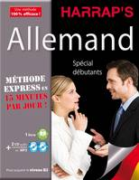 Harrap's Méthode Express Allemand 2CD+livre, Livre+CD