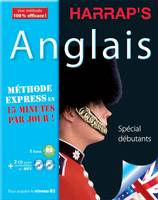 Harrap's méthode Express Anglais 2CD+livre, Livre+CD