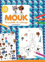 Mouk en Europe - Ma pochette de coloriages