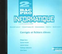 INFORMATIQUE 2 BAC PRO CD