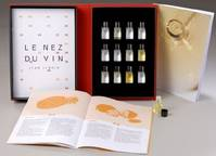 Le Nez du Vin : Make Scents of Wine, White wines and Champagne (12 aromas)
