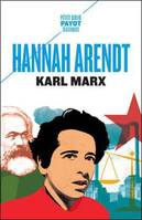 Karl Marx, Et la tradition de la pensée politique occidentale