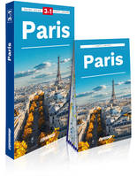 Paris / 3 en 1 : guide, atlas, carte laminée