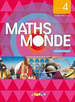 Maths Monde cycle 4 - Livre (1 volume)
