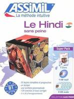 Le hindi sans peine / super pack, Livre+CD