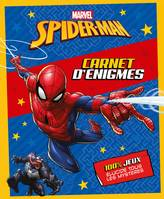 SPIDER-MAN - Carnets d'Énigmes - MARVEL