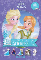 Disney La Reine des Neiges - Super stickers ! (Fond mauve)