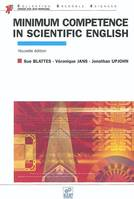 Minimum competence in scientific english, Livre