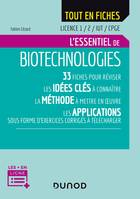 Biotechnologies - Licence 1/2/IUT/CPGE