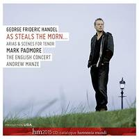 George Frideric Handel : As steals the morn : CD